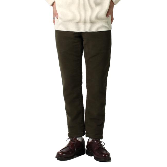 grown&sewn,グロウンアンドソーンモールスキンパンツ,通販