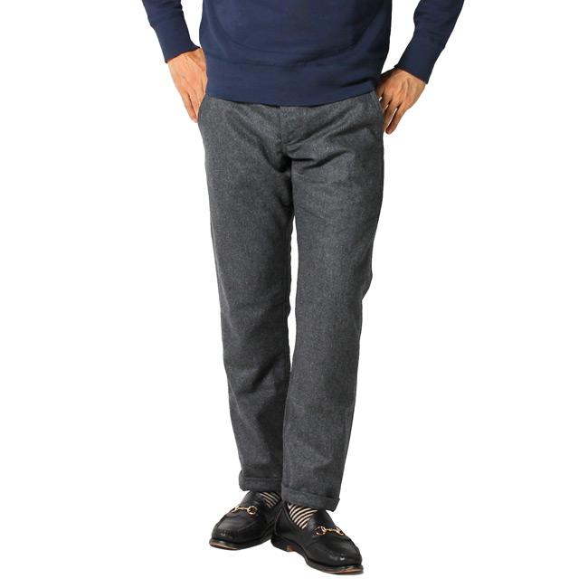 GROWN&SEWN,グロウン&ソーン,ウールパンツ インディペンデント メンズファッション アメリカ製,通販 通信販売