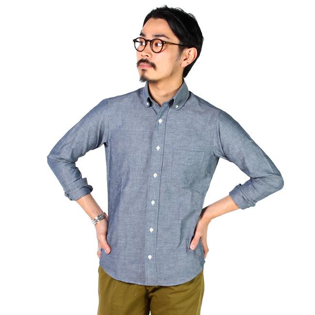 KEATON CHASE USA キートンチェイスUSA,メンズ シャンブレーシャツ,通販