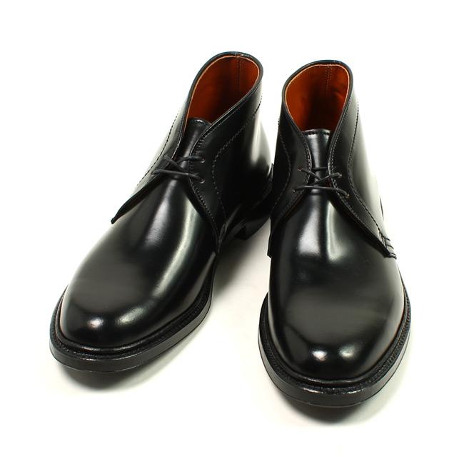 ALDEN オールデン,1340 チャッカブーツ ブラック コードバン コードヴァン 革靴 アメリカ製 メンズファッション 定番,通販 通信販売