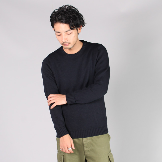 ZANONE ザノーネ,クルーネック ニット セーター メンズファッション,通販 通信販売