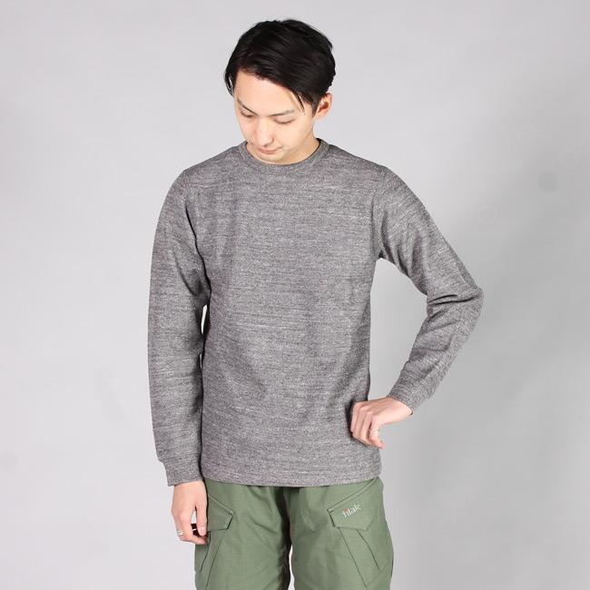 BLURHMS ブラームス,サーマル 長袖 クルーネック カットソー ロンT 日本製 国産 メンズファッション,通販 通信販売