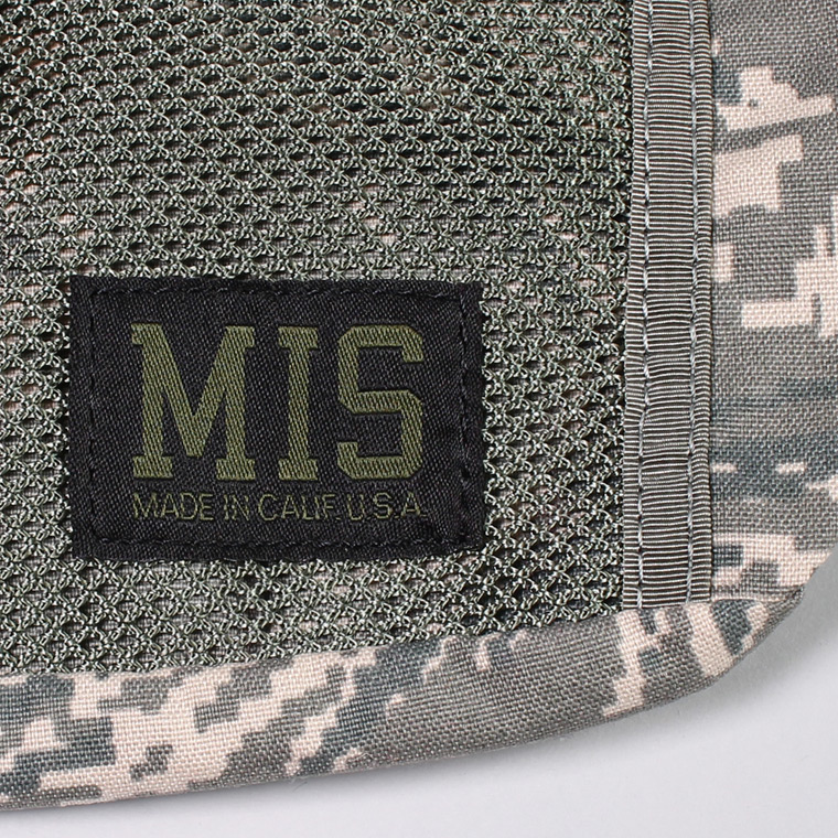 MIS (エムアイエス)  MESH WAIST BAG / ABU CAMO