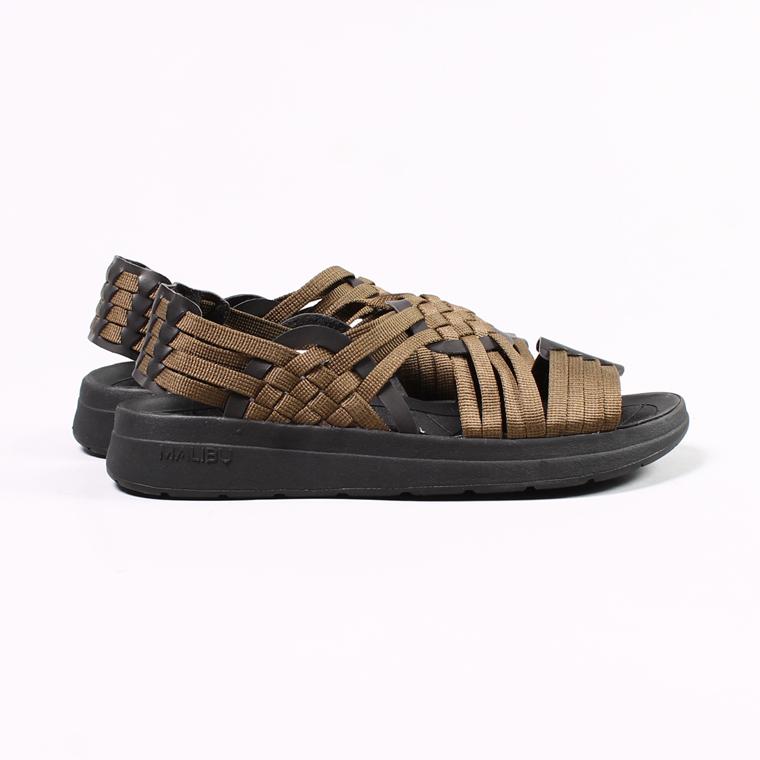Malibu Sandals (マリブサンダルス)  CANYON - NYLON WEAVE / OLIVE