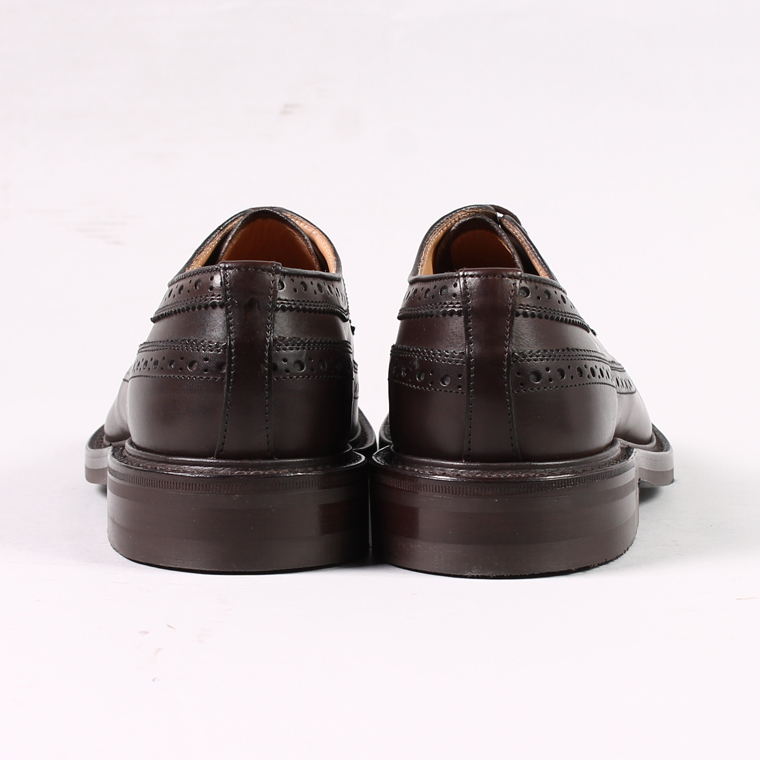 Tricker's (トリッカーズ)  LONG WING TIP w/DINITE SOLE / ESPRESSO BURNISHED