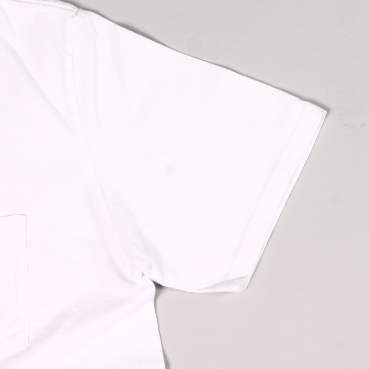 FELCO (フェルコ)  S/S V NECK POCKET T SHIRT / WHITE