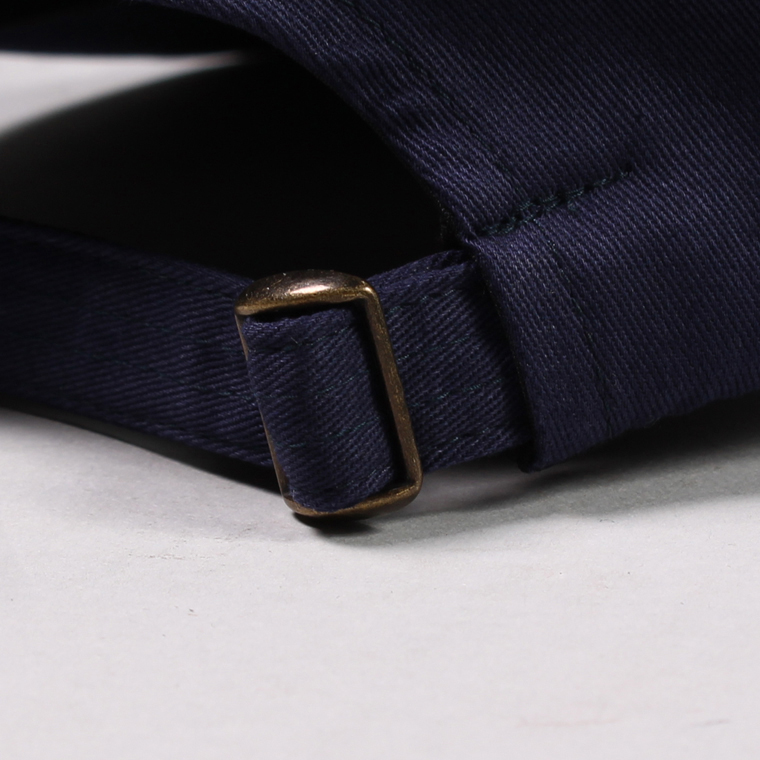 FELCO (フェルコ)  TWILL BB CAP - NAVY / F GREY HEATHER