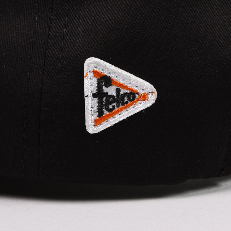 FELCO (フェルコ)  TWILL BB CAP - BLACK / F NATURAL