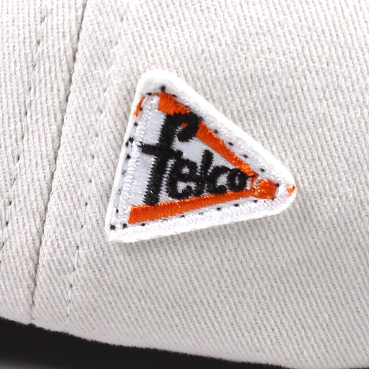 FELCO (フェルコ)  TWILL BB CAP - STONE / F NAVY