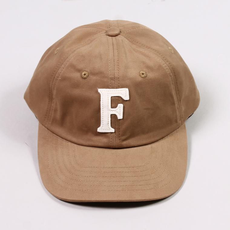 FELCO (フェルコ)  TWILL BB CAP - TAN / F NATURAL