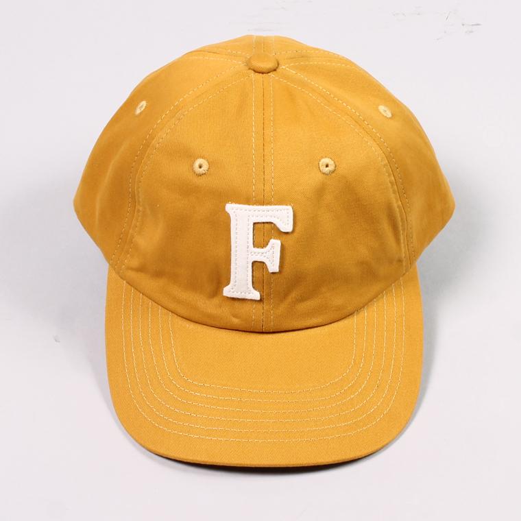 FELCO (フェルコ)  TWILL BB CAP - MUSTARD / F NATURAL