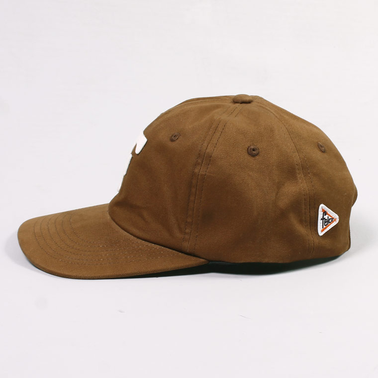 FELCO (フェルコ)  TWILL BB CAP - BROWN / F NATURAL