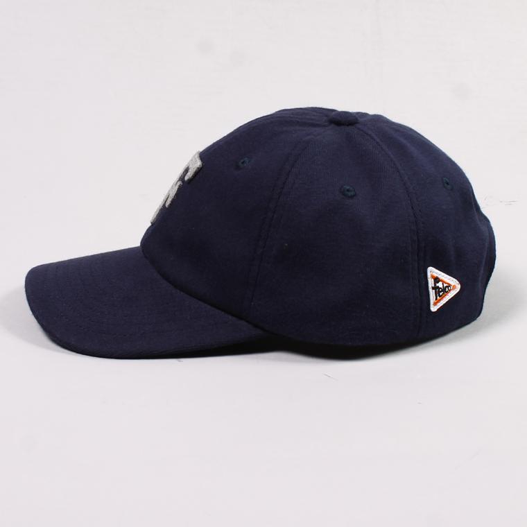 FELCO (フェルコ)  SWEAT BB CAP - NAVY / F GREY HEATHER