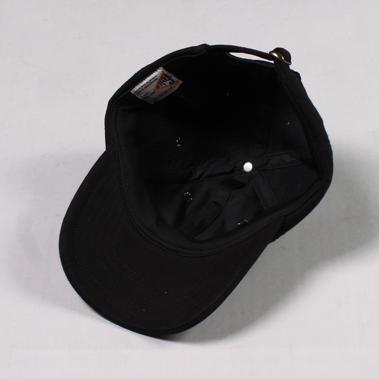 FELCO (フェルコ)  SWEAT BB CAP - BLACK / F NATURAL