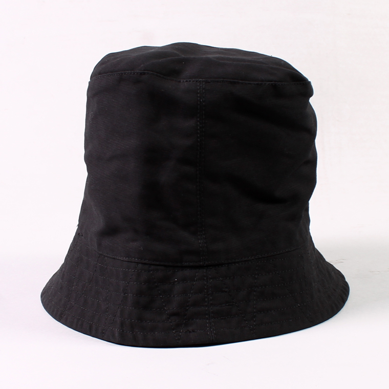 ENGINEERED GARMENTS(エンジニアドガーメンツ) BUCKET HAT - DOUBLE CLOTH / BLACK