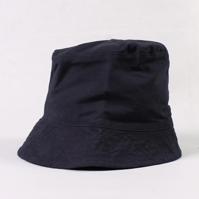 ENGINEERED GARMENTS(エンジニアドガーメンツ) BUCKET HAT - DOUBLE CLOTH / DK NAVY