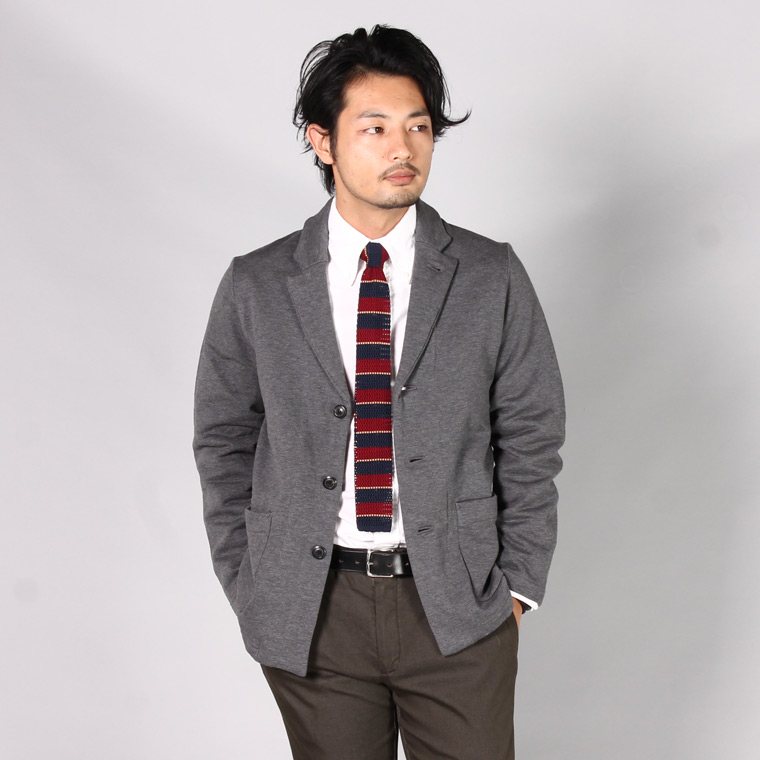 FIL MELANGE フィルメランジェ,CALVERT カルバート テーラードジャケット チャコールグレー 日本製 国産 メンズファッション,通販 通信販売