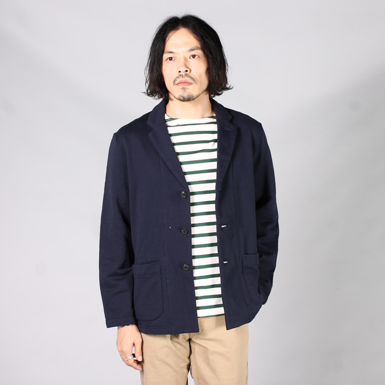 FIL MELANGE フィルメランジェ,CALVERT カルバート テーラードジャケット ネイビー 日本製 国産 メンズファッション,通販 通信販売