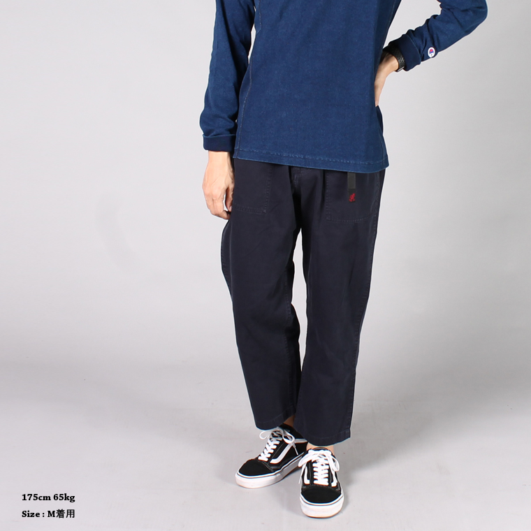 Gramicci (グラミチ)  LOOSE TAPERED PANTS / DOUBLE NAVY