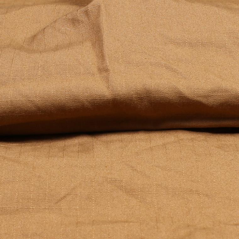 R&VINTAGE (アールアンドヴィンテージ)  L/S TRIPLE NEEDLE B/D SHIRT RIPSTOP CLOTH - BROWN