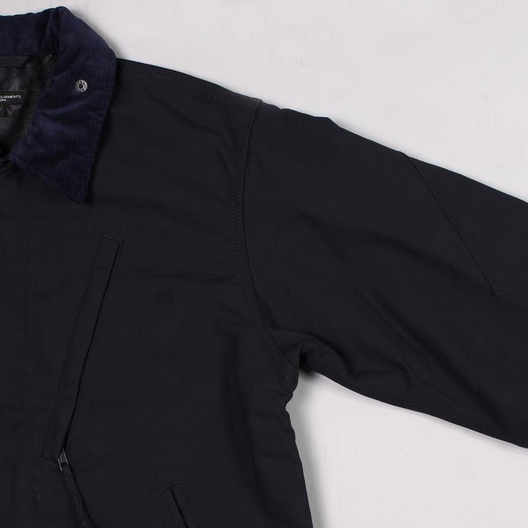 ENGINEERED GARMENTS(エンジニアドガーメンツ) NA2 JACKET - COTTON DOUBLE CLOTH - NAVY