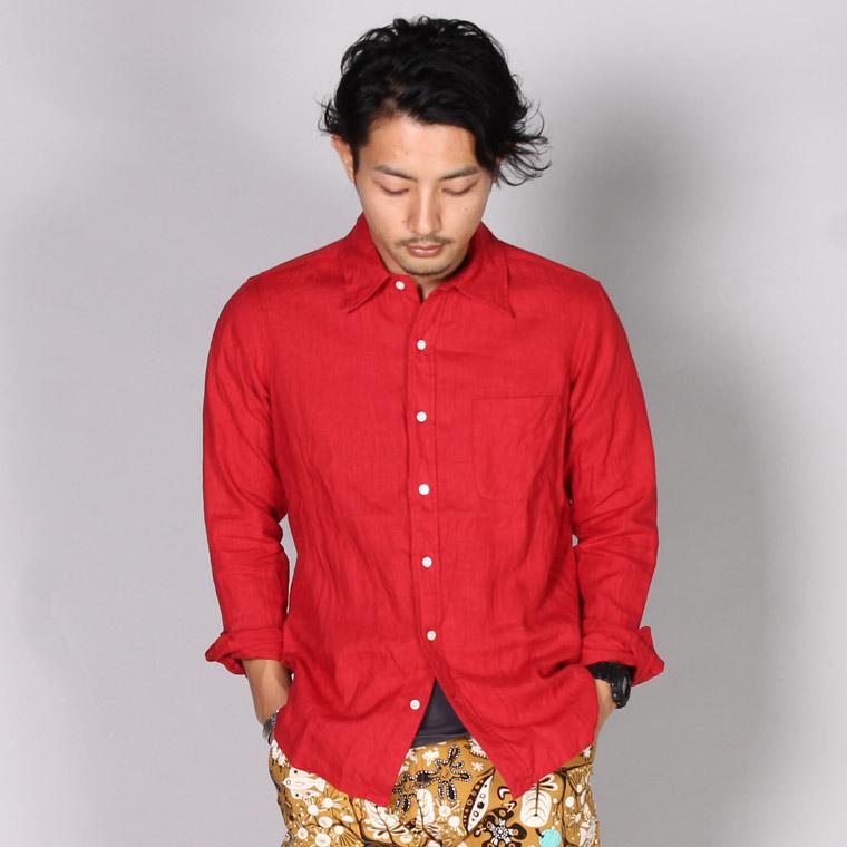 KEATON CHASE USA キートンチェイスユーエスエー リネンシャツ メンズファッション,通販 通信販売