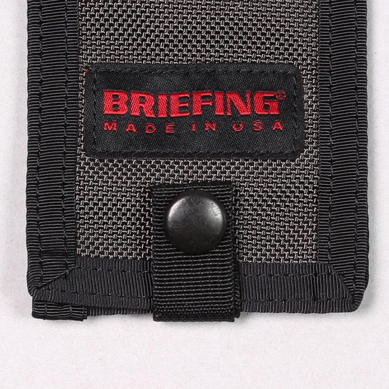 BRIEFING(ブリーフィング)  NAME HOLDER - STEEL