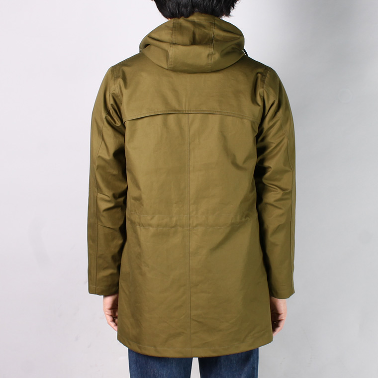TRAFALGAR SHIELD (トラファルガーシールド)  T-15 FIELD PARKA VENTAILE COTTON 40/2 GABADIN - OLIVE