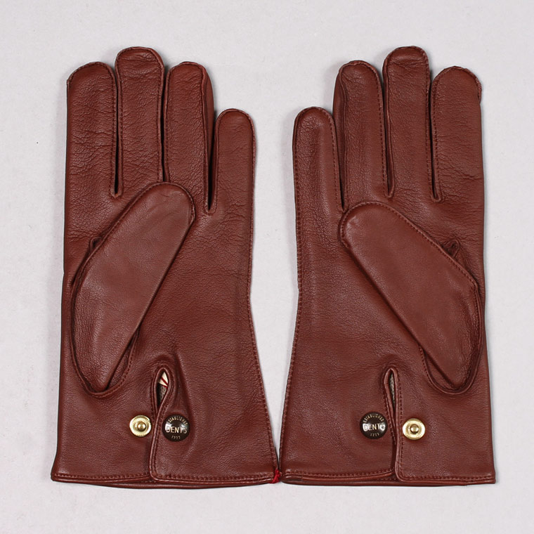 DENTS(デンツ)  MENDIP - HAIR SHEEP GLOVE w/WOOL LINING - ENGLISH TAN