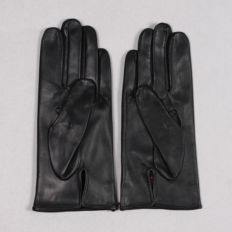DENTS(デンツ)  MILTON - UNLINED HAIR SHEEP GLOVE - BLACK