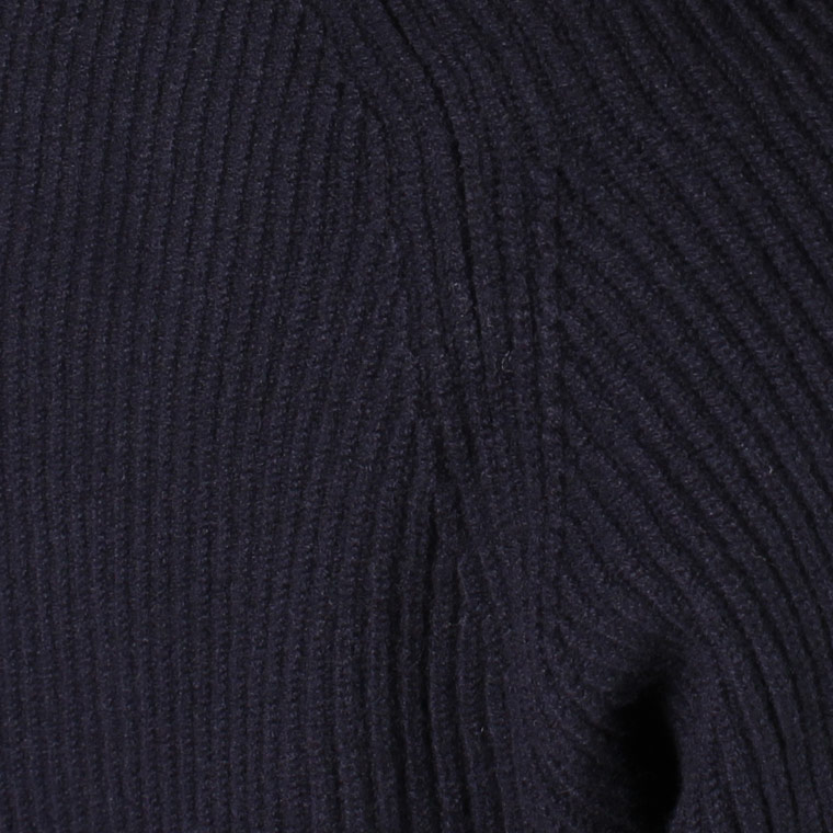 WILLIAM LOCKIE (ウィリアム ロッキー)  JACKSON SHAWL COLLAR CARDIGAN - NAVY