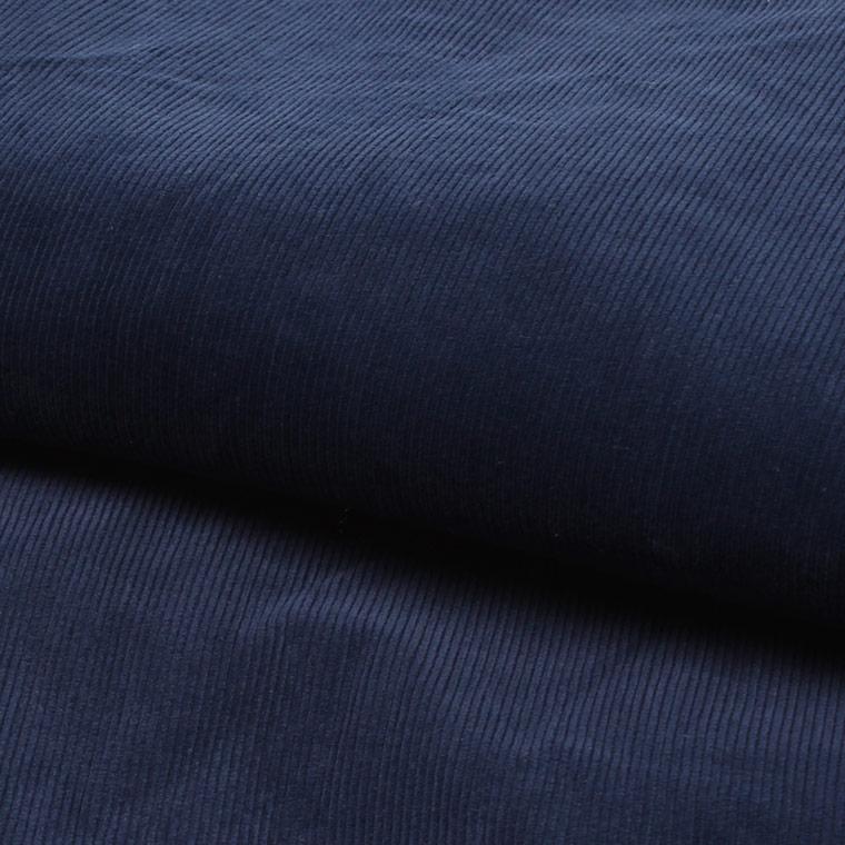 FELCO (フェルコ)  CORDUROY AWARD JACKET W/SHIRT COLLAR THINSULATE LINING - NAVY_RED LINING
