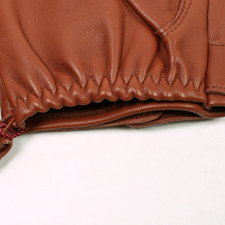 DENTS(デンツ)  FLEMMING - UNLINED HAIR SHEEP GLOVE - HIGHWAY TAN