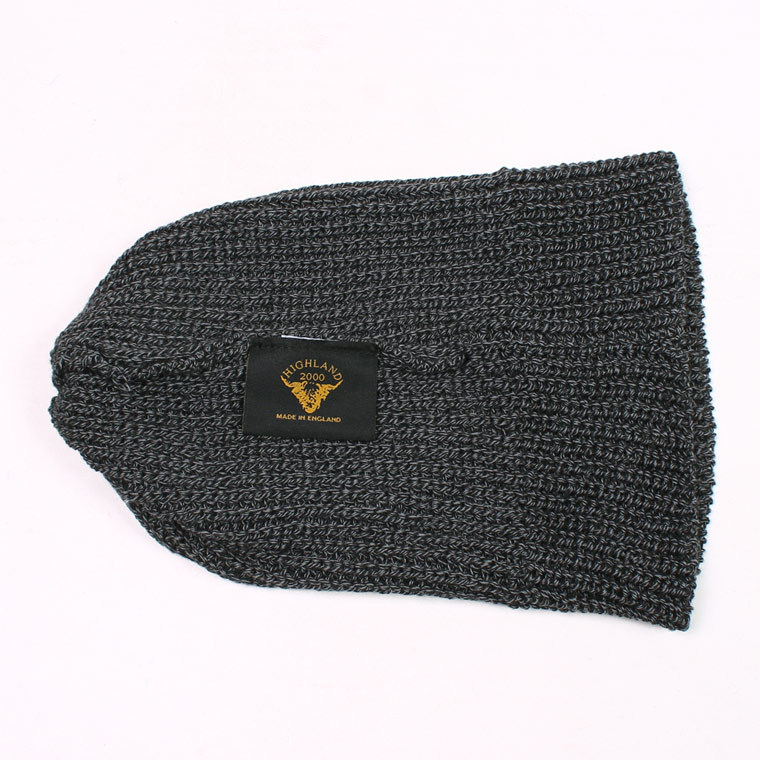 HIGHLAND 2000 (ハイランド2000)  HC COTTON SHORT WATCH CAP - CHARCOAL MARL