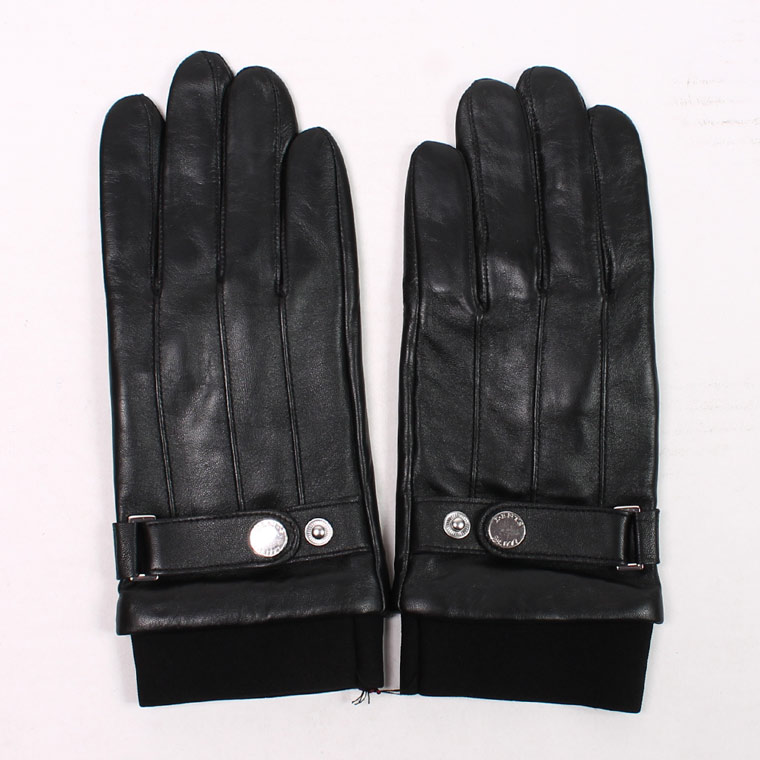 DENTS(デンツ)  HAIRSHEEP TOUCH SCREEN WATER RESISTANT GLOVE - BLACK
