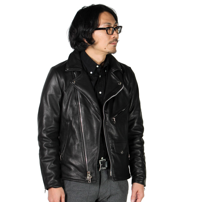 VANSON (バンソン)  C2-SLIM FITTED SOFT COW LEATHER