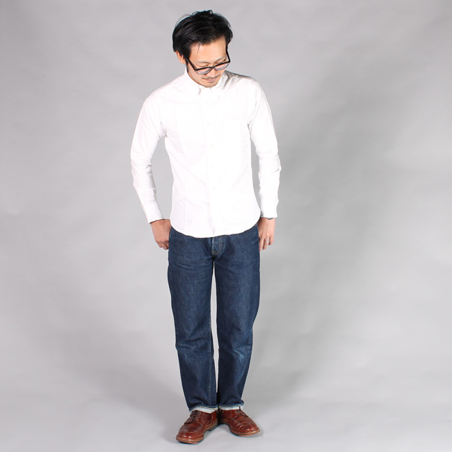 KEATON CHASE USA L/S BD OXFORD SHIRT