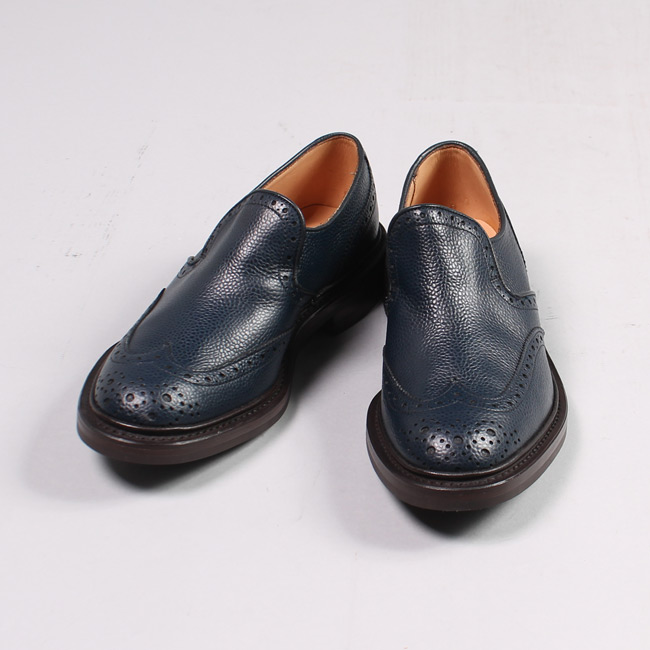Tricker's トリッカーズ,短靴 スリッポン  メンズファッションExplorer別注,通販 通信販売