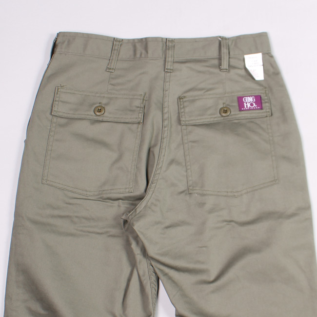 GUNG-HO (ガンホー)  FRENCH WAIST EXPEDITION PANT