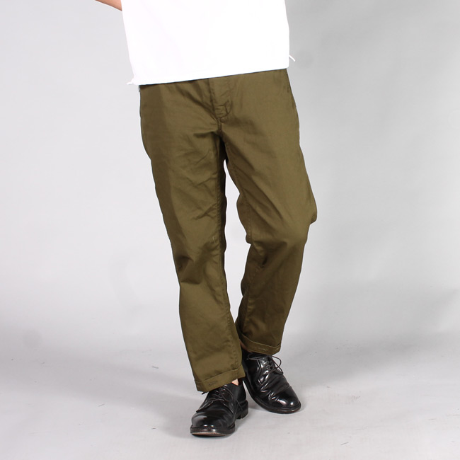 ENGINEERED GARMENTS(エンジニアドガーメンツ) GROUND PANT - 7oz COTTON TWILL