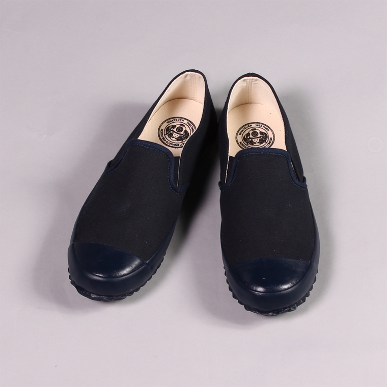 North Sea Clothing (ノースシークロージング)  MK1 DECK SLIP ON / NAVY_NAVY