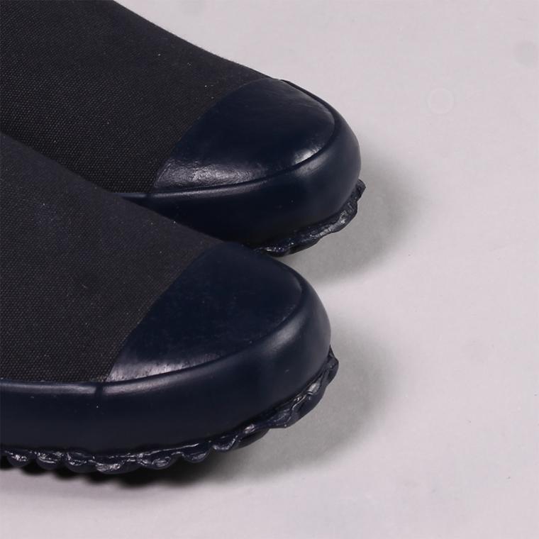 North Sea Clothing (ノースシークロージング)  MK1 DECK SLIP ON / NAVY_NAVY