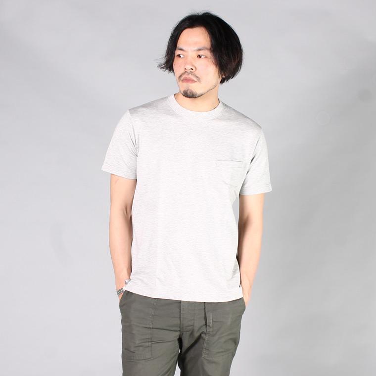 FIL MELANGE フィルメランジェ,LINFORD リンフォード ポケットTシャツ 無地 日本製 国産 メンズファッション,通販 通信販売