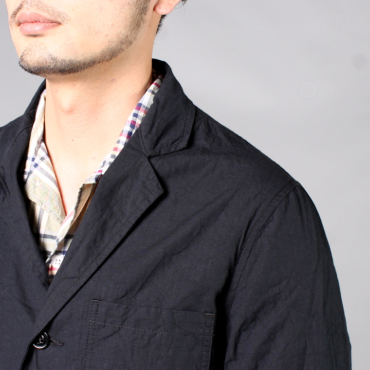 SABRE (サブレ)  COTTON RIP STOP TAILOR JACKET / MAT BLACK