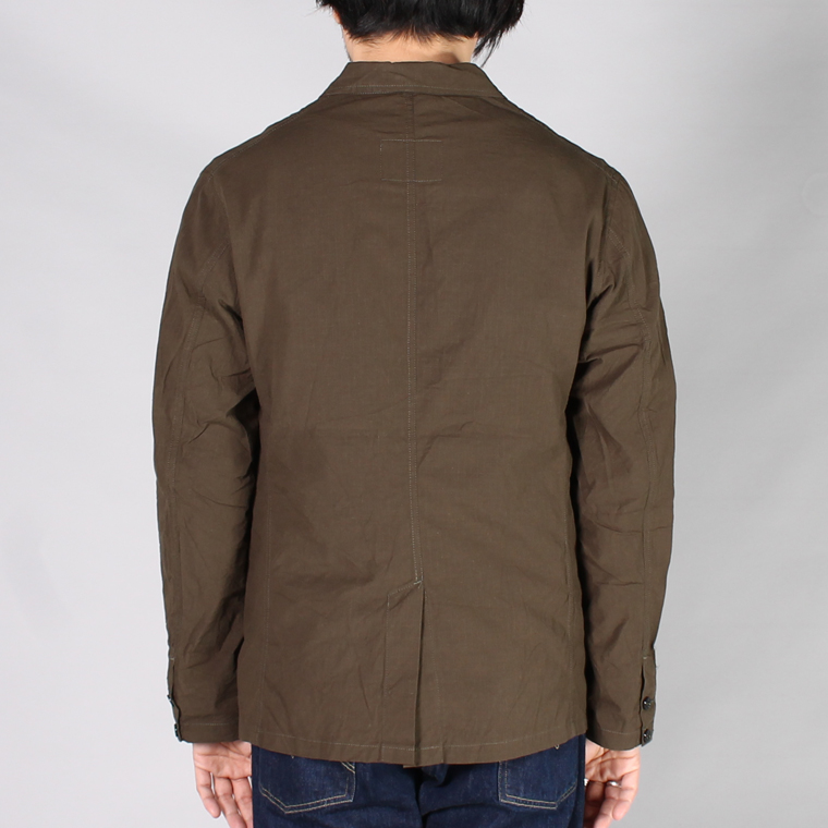 SABRE (サブレ)  COTTON RIP STOP TAILOR JACKET / OLIVE
