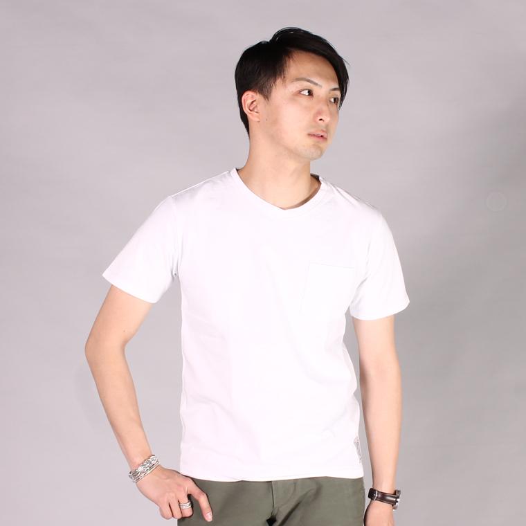 FELCO フェルコ,2017春夏新作 メンズファッション 定番 無地 Vネック ポケットTシャツ アメリカ製,通販 通信販売