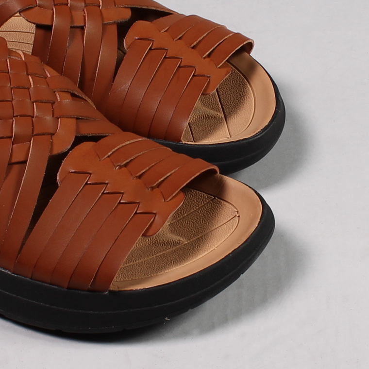 Malibu Sandals (マリブサンダルス)  CANYON - VEGAN LEATHER / WHISKEY_BLACK