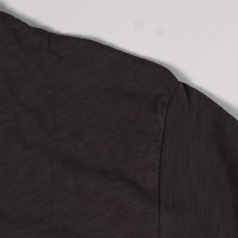 TODD SNYDER×CHAMPION (トッドスナイダー×チャンピオン)  SS PRINT TEE - DIAGONAL CHAMPION GRAPHIC / BLACK_BK01