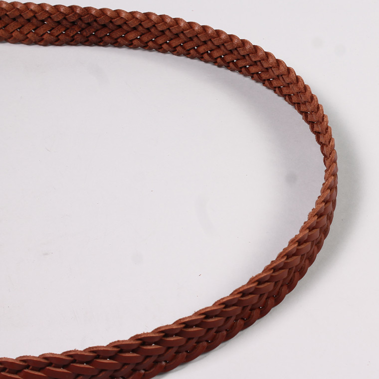 ANGLO (アングロ)  35mm 13PLY BRAIDED BELT / BLACK