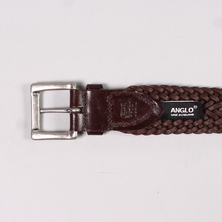 ANGLO (アングロ)  35mm 13PLY BRAIDED BELT / TESTOMORRO